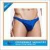Tanga sexy Underwears do Mens azul feito sob encomenda