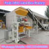 Máquina concreta semiautomática do tijolo contínuo