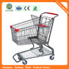 Carrefour (JS-TAM08)를 위한 4 바퀴 Supermarket Trolley Cart