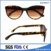 Он-лайн Unisex стекла Eyewear зеркала леопарда Brown способа