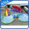 Parque inflável gigante da água, parque de diversões inflável