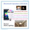 RGBW Bluetooth Music LED Speaker Light Bulb voor Parties