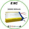 Exc 606090 3.7V 8000mAh 건전지 팩 재충전용 Lipol 건전지 부대