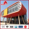Le dernier ACP de panneau de mur de support de matériau de construction 2016