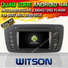 Witson Android 4.4 Car DVD voor Seat Ibiza 2013 met ROM WiFi 3G Internet DVR Support van Chipset 1080P 8g (W2-A6524)