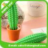 Stylos mignons mous de dessin animé de stylo bille de PVC de cactus