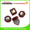 カスタムハンドメイドの小さいビロードの宝石類中国一定ボックス製造業者