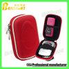 Pequeño bolso rojo de la cámara de la aduana 1680d con la cremallera (0218)
