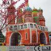 Arco gonfiabile del parco di divertimenti della tela incatramata del PVC