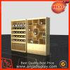 Armadietto di esposizione del vino della cremagliera di visualizzazione del vino del reparto