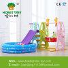 Пластичные скольжение и качание для спортивной площадки малышей