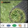 Alfombra artificial de la hierba del césped al aire libre plástico verde para la venta