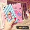 Nettes Muster passen iPhone Samsung Beweglich-Zelle Telefon-Kasten an