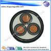 Mv XLPE Insulated PVC Sheathed Steel Tape Armored Flame Retardant Electrical Power Cable