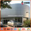 L'Australia che piega i pannelli di parete di alluminio d'argento del rivestimento di ASP PVDF