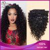 Grampo 100% da onda do cabelo do Virgin no cabelo humano do cabelo