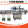 Machine à étiquettes ronde latérale simple de bouteille en verre (MPC-DS)