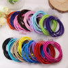 Meninas 3mm Rubber Elastic Rope Ring Seamless Hairbands (JE1522)