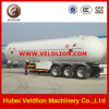 Three-Axles 56000liter LPG Tanker Trailer