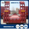 4 árbol 80ton Extendable Low Bed Trailer