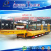 Directly Factory Tri Axle 60t Hydraulic Detachable Gooseneck Low Bed Semi Trailer