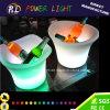 Couleur de RVB changeant le seau à glace lumineux de vin de LED