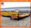 50ton resistente Tri-Axle Low Loader Lowbed Semi Trailer