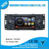 2 DIN Car DVD Player para Grand Voyager / Jeepgrand com built-in GPS, Dual Zone, Painel Digital, RDS, Volante (TID-6096)