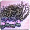 El tejer sin procesar del pelo rizado de las capas dobles del 100%