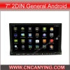 Reproductor de DVD especial de Car para 7  2DIN General Android con el GPS, Bluetooth (AD-8521)