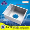 140mm Big Drain Hole Zero Radius Stainless Steel Sink