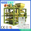 Machine concrète de brique de Qtj4-25c, machine de fabrication de brique creuse de brique