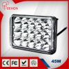 Quente! ! 6.6inch diodo emissor de luz Work Light do diodo emissor de luz Driving Light 45W