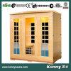 2014 (KL-4SAF) nuevas saunas de madera de interior del infrarrojo lejano del calentador del carbón