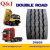 Doppelte Straßen-Marken-Radial-LKW-Gummireifen der Größen-11r22.5