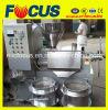 Prensa de petróleo caliente de la paja de los cacahuetes de la venta, máquina automática de la prensa de petróleo