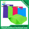 Buttomの高品質非編まれる非編まれたファブリック袋の再使用可能な布袋のハンドバッグが付いている打つNonwoven袋袋によってカスタマイズされる書類封筒を広告する