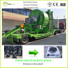Dura-Shred Environmental Rubber Crusher per Waste Tire (Mobile Plant)