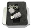 Disco de destello del USB de la joyería popular de la columna