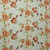 ポリエステルフィラメントライトが付いている気高く多彩な刺繍のオーガンザの生地Ab102