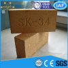 Ladrillo de fuego refractario del alto alúmina Sk34
