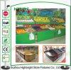 Supermarkt-metallische Obst- und GemüseStandplatz-Zahnstange