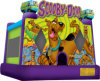 Moonwalk de Scooby Doo do Bouncer para parque de diversões interno/ao ar livre do partido