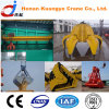 QZ Model Double Girder/Beam Grab Bucket Overhead/EOT Crane para Lifting Bulk Material