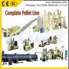 Fácil operar a linha de produção da pelota do desperdício da fibra da palma de petróleo