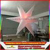 rode Purpere Reuze Opblaasbare LEIDENE van 3m Lichte Ster voor de Decoratie van de Partij