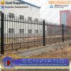 Загородка ковки чугуна загородки сада конструирует загородку Stube стального покрытия силы загородки стальную