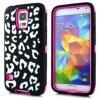 Galaxy S5 Leopard Case Hybrid Patrón para Samsung Galaxy i9500