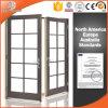 Puerta con bisagras americana de madera sólida del estilo, puerta francesa importada de la madera sólida, la última puerta de madera de la alta calidad del diseño