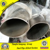 Mildes Steel Galvanized oder Black Oval Welded Steel Pipe